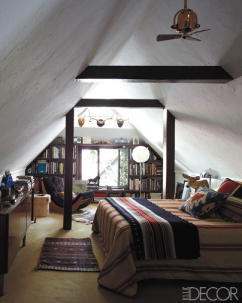 La Maison Boheme Bedroom With A Pitched Roof
