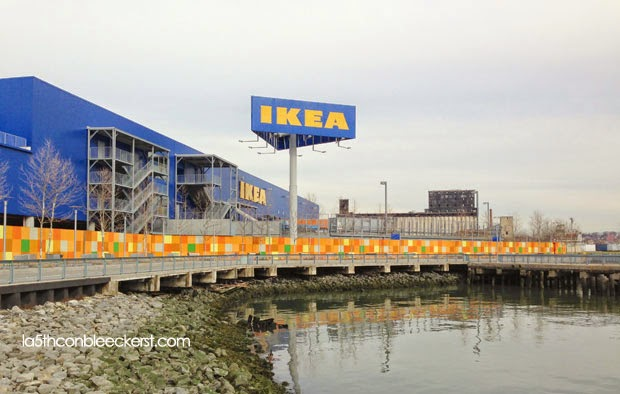 paseo en el water taxi de ikea de brooklyn. Black Bedroom Furniture Sets. Home Design Ideas