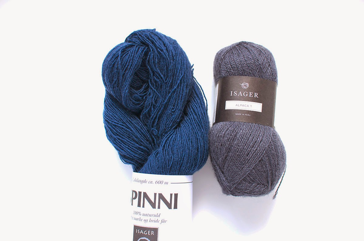 Isager糸Spinni & Alpaca 1 - 色番54のセット