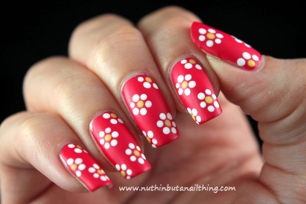 nuthin' but a nail thing: 33 Day Challenge - Day 10 - Flowers