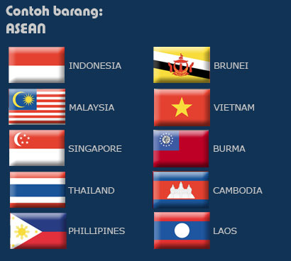 ASEAN Countries Flags