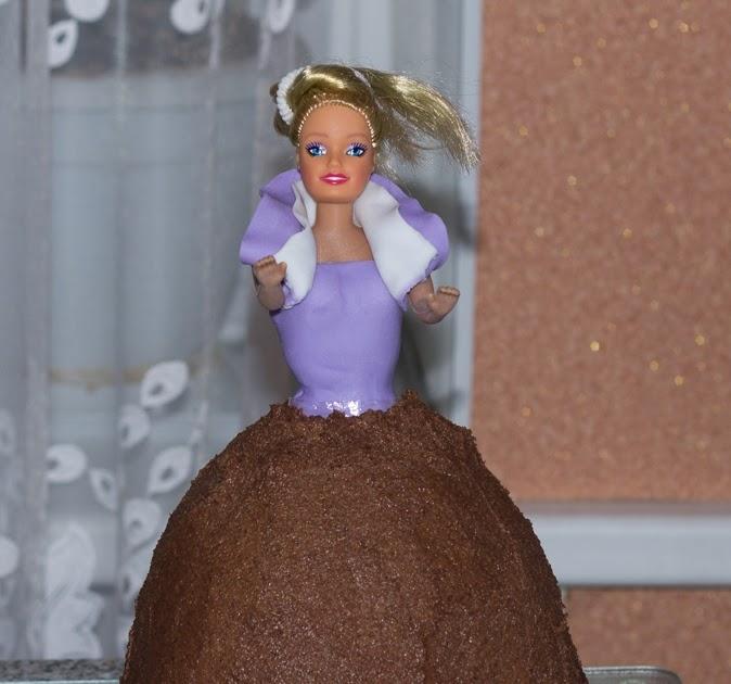 Торт кукла рецепт с фото пошагово в домашних условиях из крема