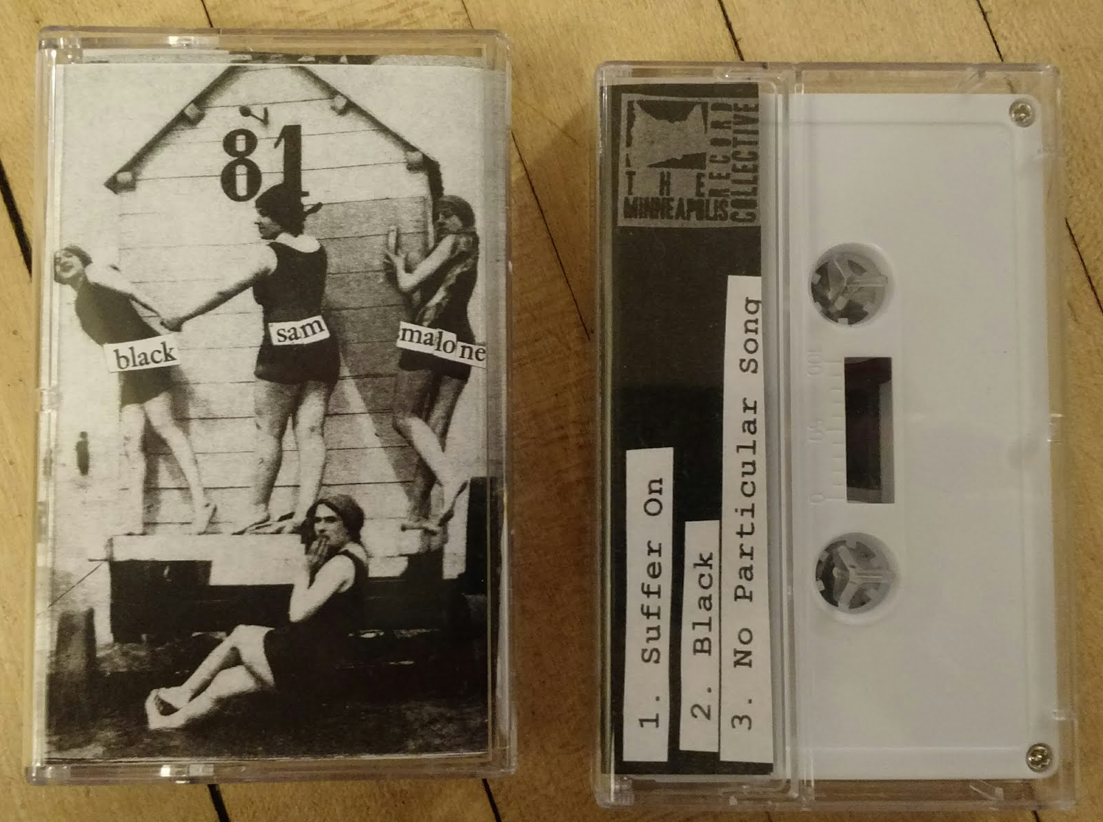 "$3.50 - Our first release, ""let's dance at the mouth of the pit"", 3 song cassette"