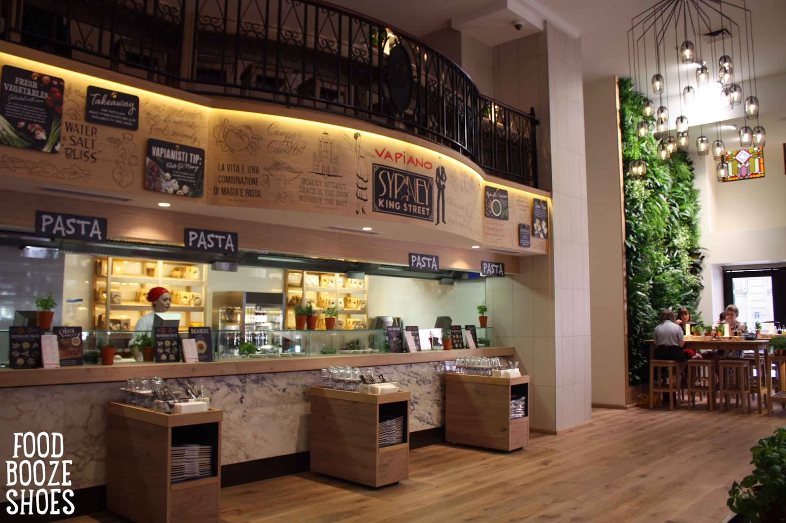 Brisbane Restaurant Vapiano