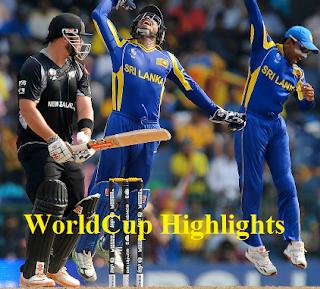 NewZealand vs Srilanka -World Cup 2011-1st Semi Final Highlights