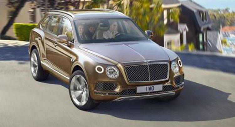 First Photos Of New Bentley Bentayga SUV