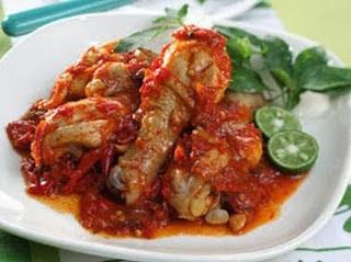 Resep Ayam Bumbu Cabai