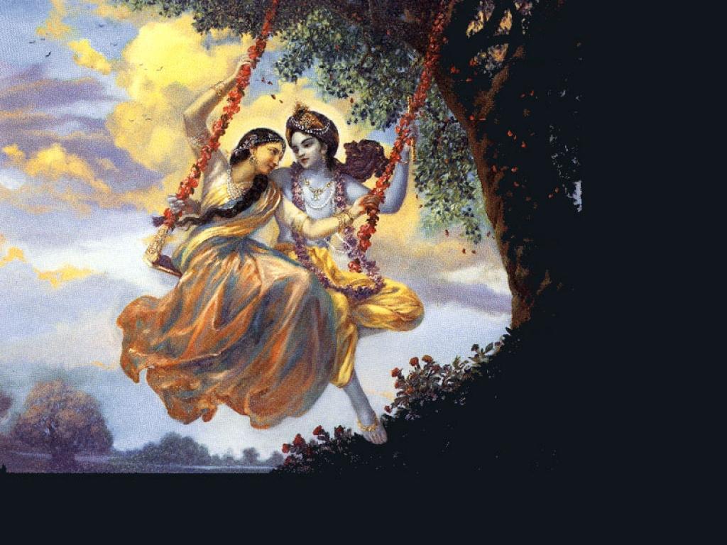 group of lord radha krishna hdwallpaper