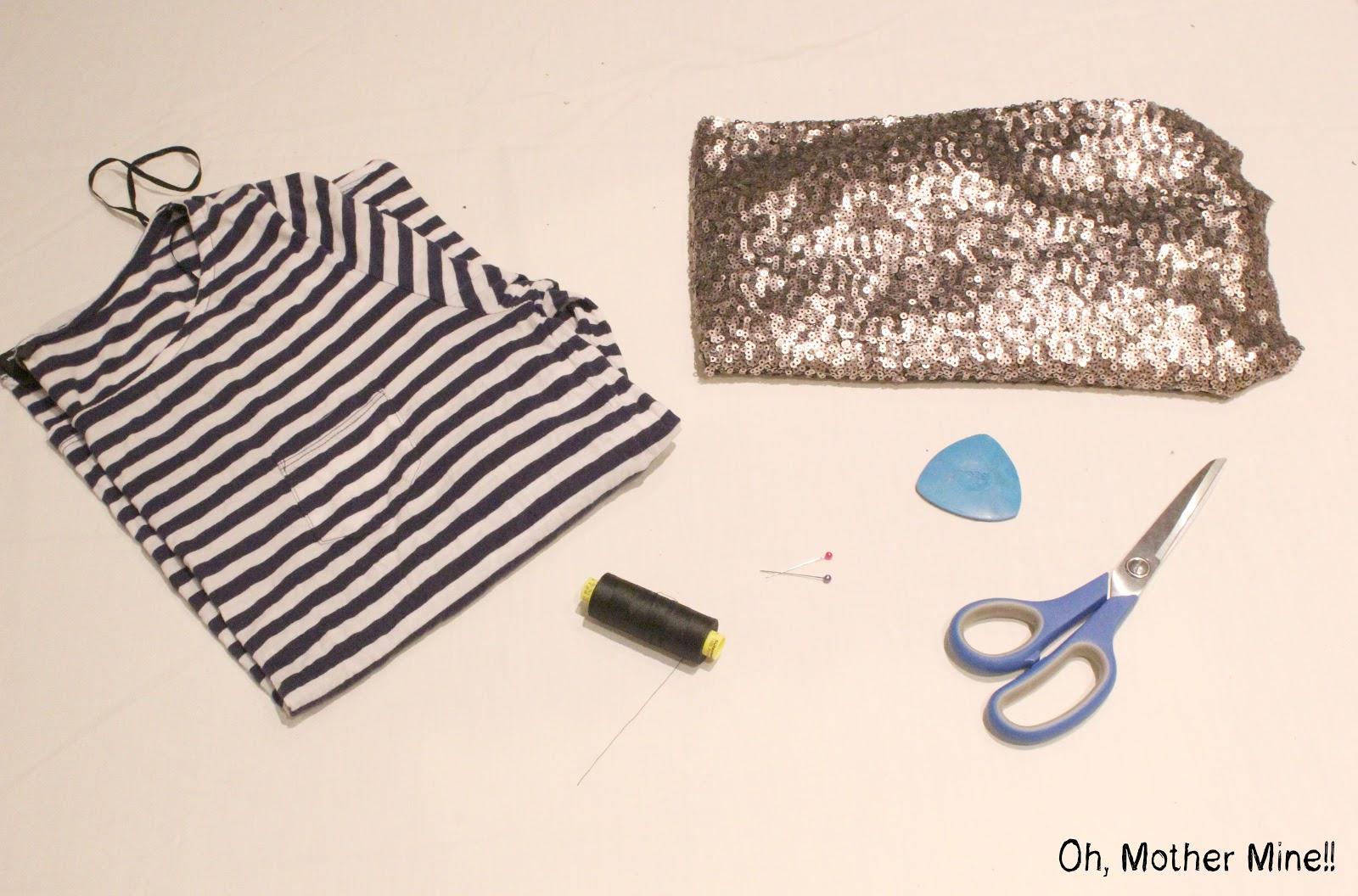 C mo hacer una camiseta de lentejuelas diy oh mother - Como hacer una mosquitera ...