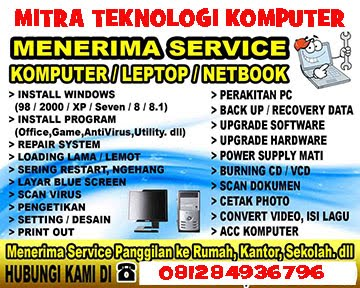 IKLAN SERVIS KOMPUTER
