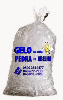 PEDRA DE ABELHA - GELO EM CUBO