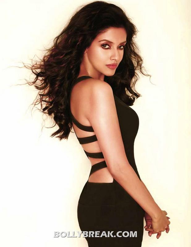 Asin in Hot Backless Dress at 10 - Bollywood 10 Hottest Actresses FHM July 2012 - World's 100 Sexiest Women Pics