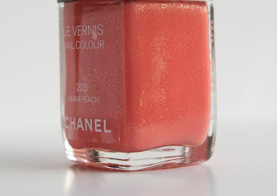 chanel vernis n°203 miami peach