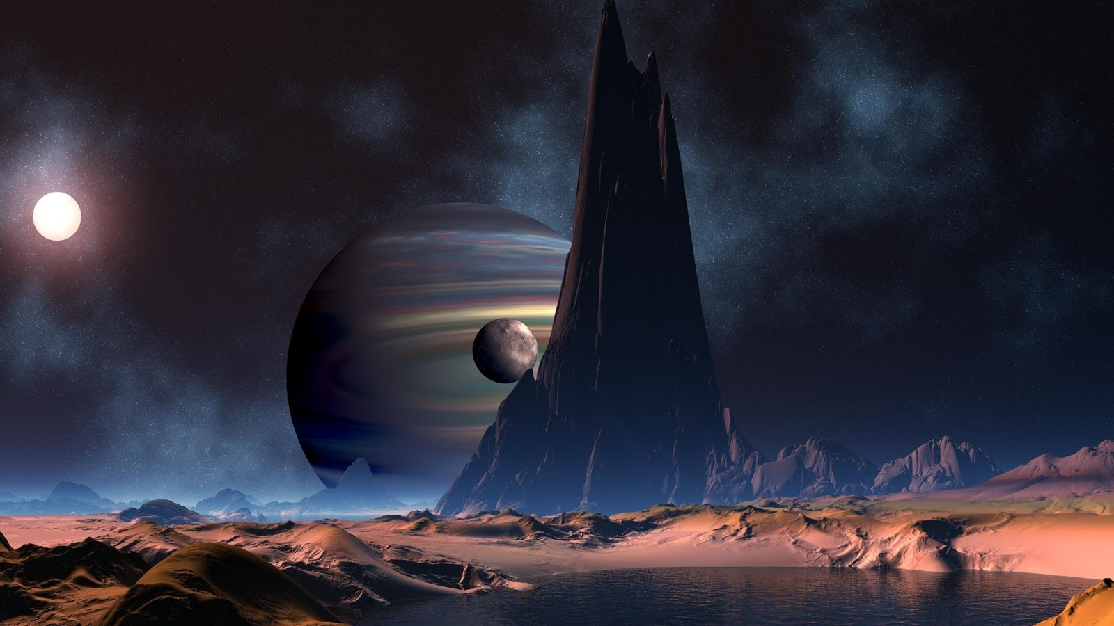 Ruimte planeet met water hd wallpapers - Ruimte van water kleine ruimte ...