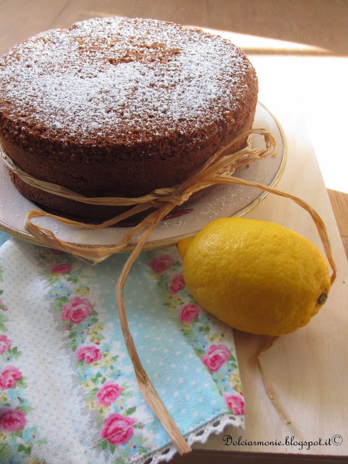 la fluffosa al limone di monica (senza il buco) e la caduta nel buco