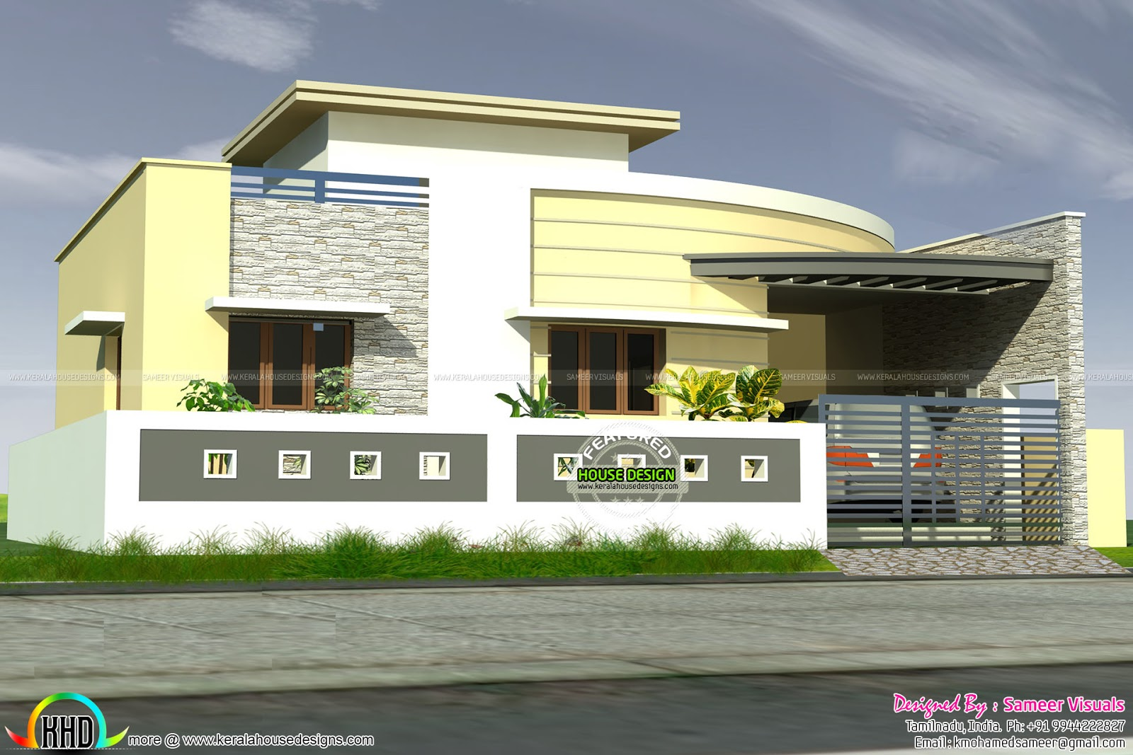 Design style modern single floor house facilities view full details