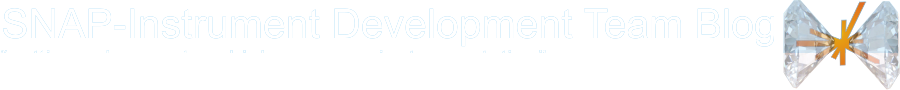 SNAP-Instrument Development Team Blog