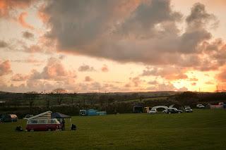 camper van festival cornwall