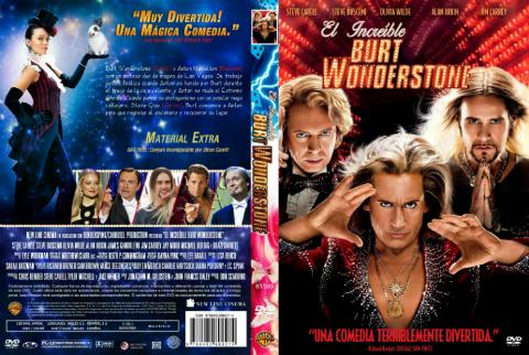 El Increible Burt Wonderstone [The Incredible Burt Wonderstone] DVDR [Latino] [2013] [Comedia]