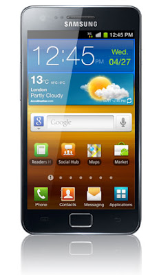 image of Galaxy S II X telephone