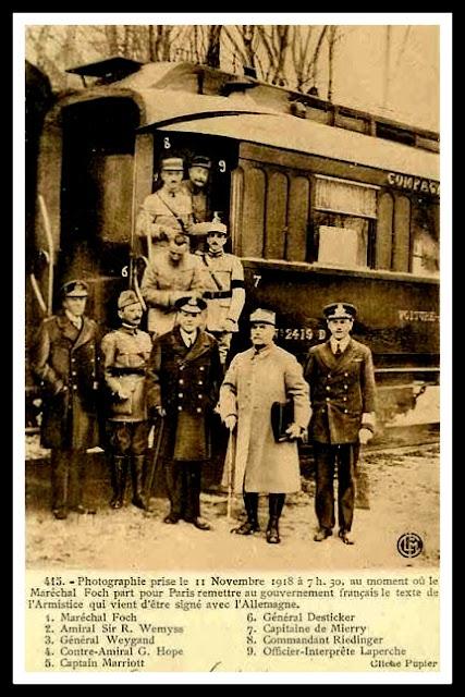 vagon 2419d rendición alemana vagón mariscal foch