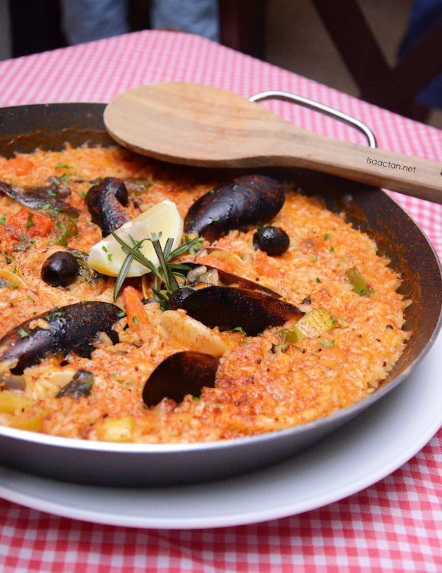 Seafood Paella - RM85 (2 pax serving)