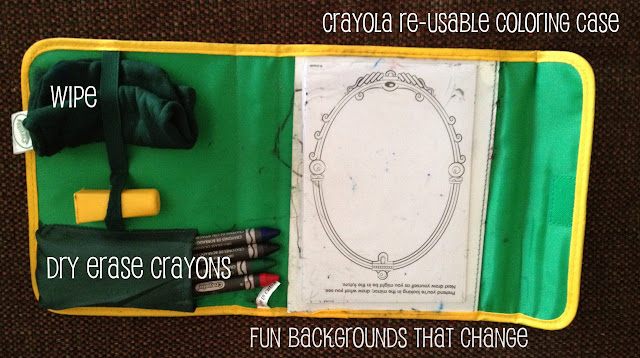 crayola dry erase travel kit