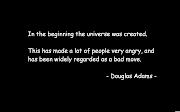 Douglas adams black quotes douglas adams black quotes quote