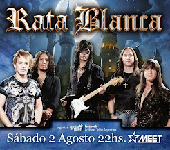 "RATA BLANCA EN ""MEET DANCE CLUB"" - 02/08/2014"