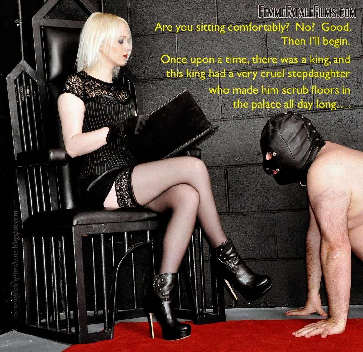 Female domination and cbt stories