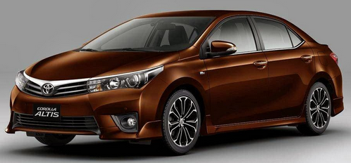 2015 Toyota Corolla Altis Specifications
