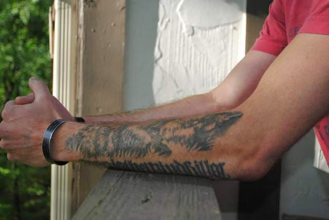 Military News - Kentucky guardsman sues over tattoo rules