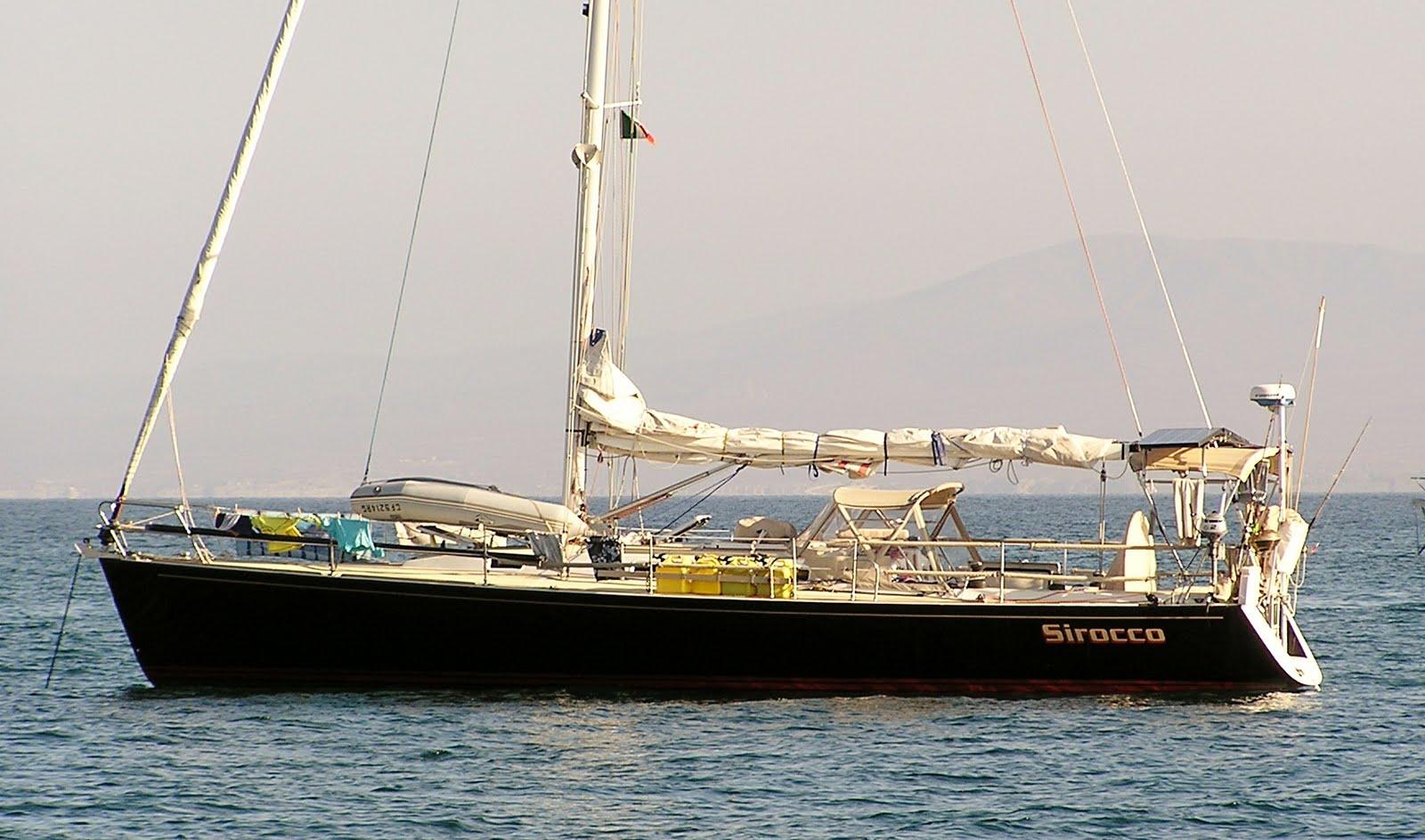 J/130 anchored in Bahia de los Muertos