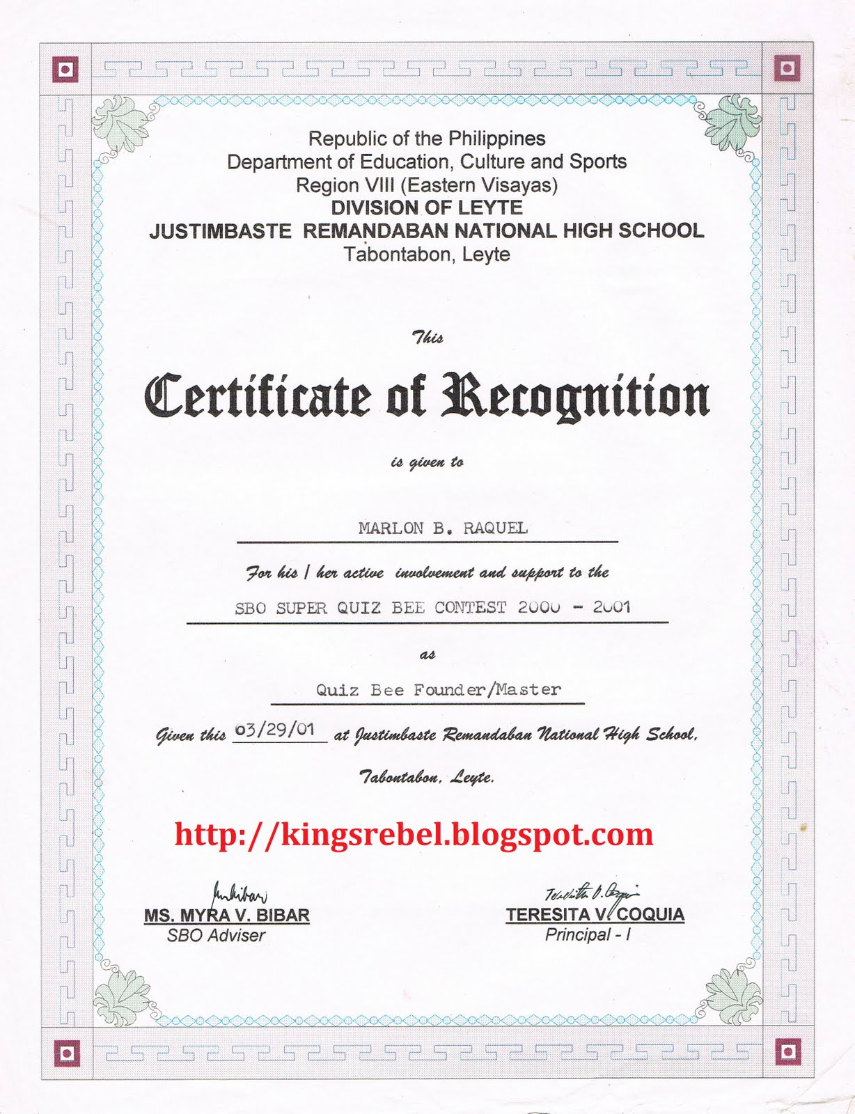 Sample certificate of recognition for quiz bee images sample certificate of recognition for quiz bee images certificate design and template yelopaper Gallery
