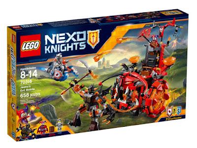 TOYS : JUGUETES - LEGO Nexo Knights  70316 Malvadomóvil de Jestro | Jestro's Evil Mobile  Jestro's Evil Mobile  Jestro's Evil Mobile  Producto Oficial 2016 | Piezas: 658 | Edad: 8-14 años  Comprar en Amazon España & buy Amazon USA