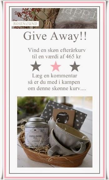 Giveaway hos SusiRydahl