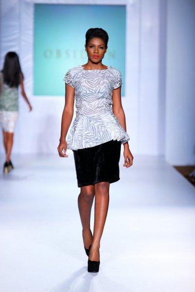 Lagos Fashion and  Design Week  2012: Obsidian
