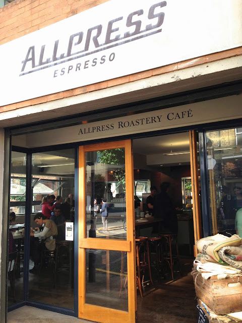 Allpress Roastery and cafe London Redchurch Street