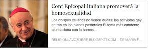 Secta bergogliana de Sodomitas promoviendo el Vicio