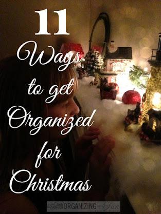 Get Christmas Organized