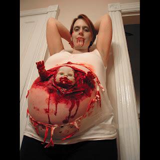бебе кръв бременна шок ужас вси светии идея