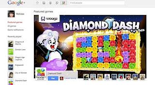 Game di Google+ Mulai Diluncurkan
