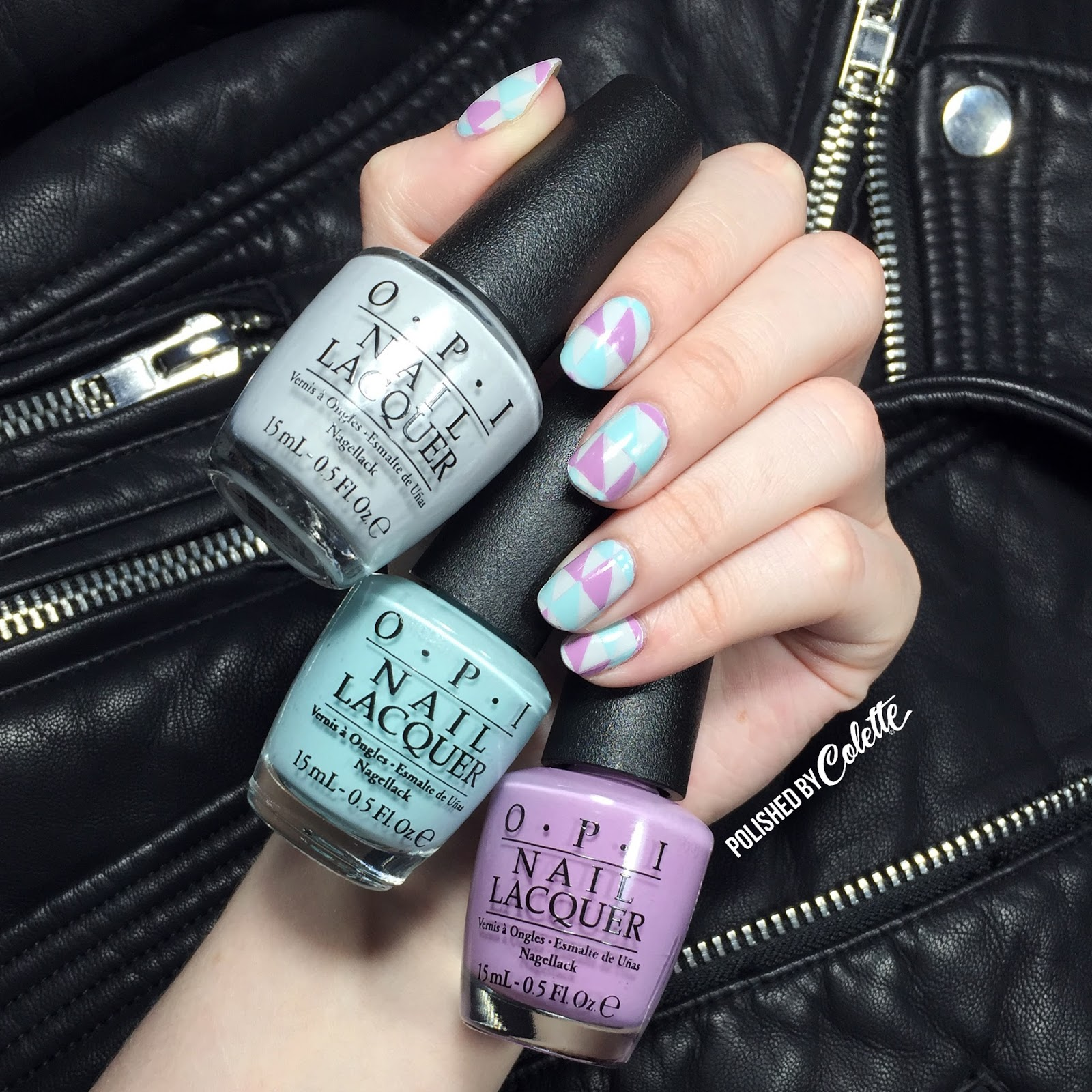 OPI Venice Collection Nail Art - Polished By Colette