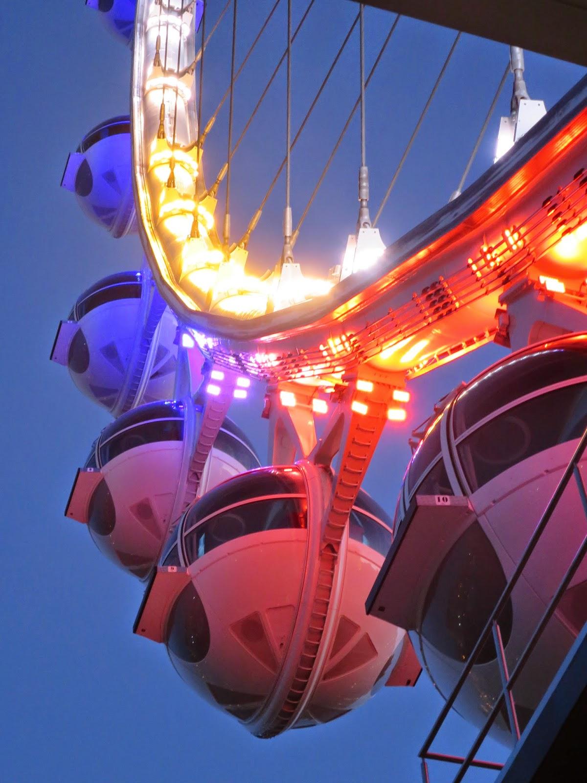 http://en.wikipedia.org/wiki/High_Roller_(Ferris_wheel)