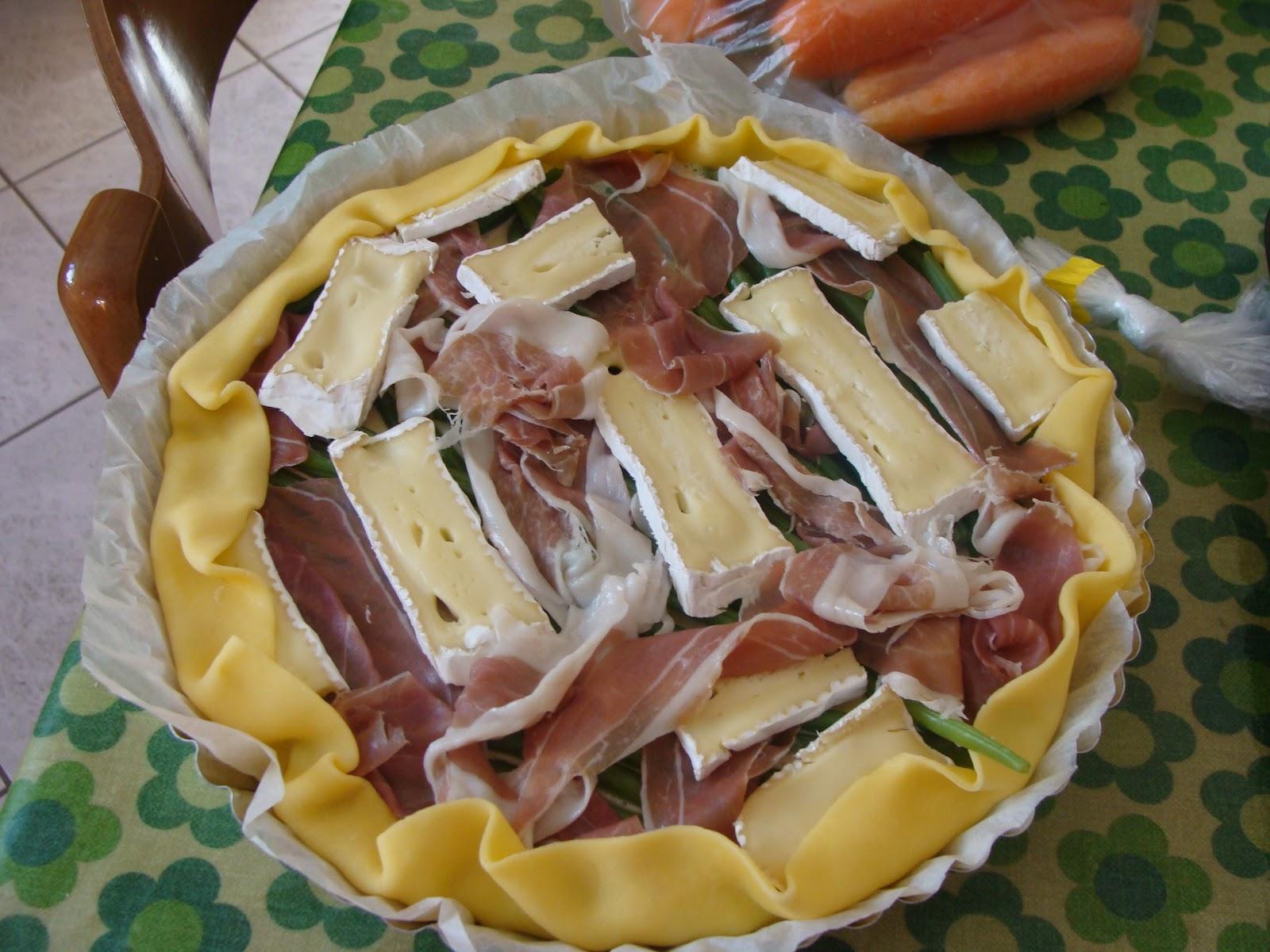 Quiche Di Fagiolini E Prosciutto  MakeUp For Breakfast