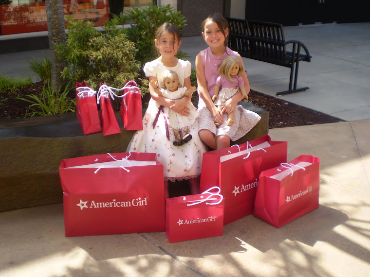 Our trip to the American Girl Store