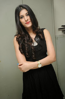 Actress Sabha Picture Gallery in Black Dress at Everydaypopcorn Website Launch Function  0032.jpg