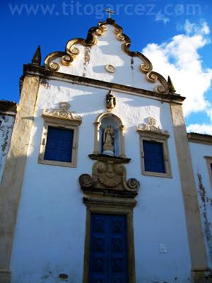 Igreja da Ordem Terceira do Carmo, também conhecida como Igreja do Senhor dos Passos. É lá que está o Museu dos Ex-Votos.