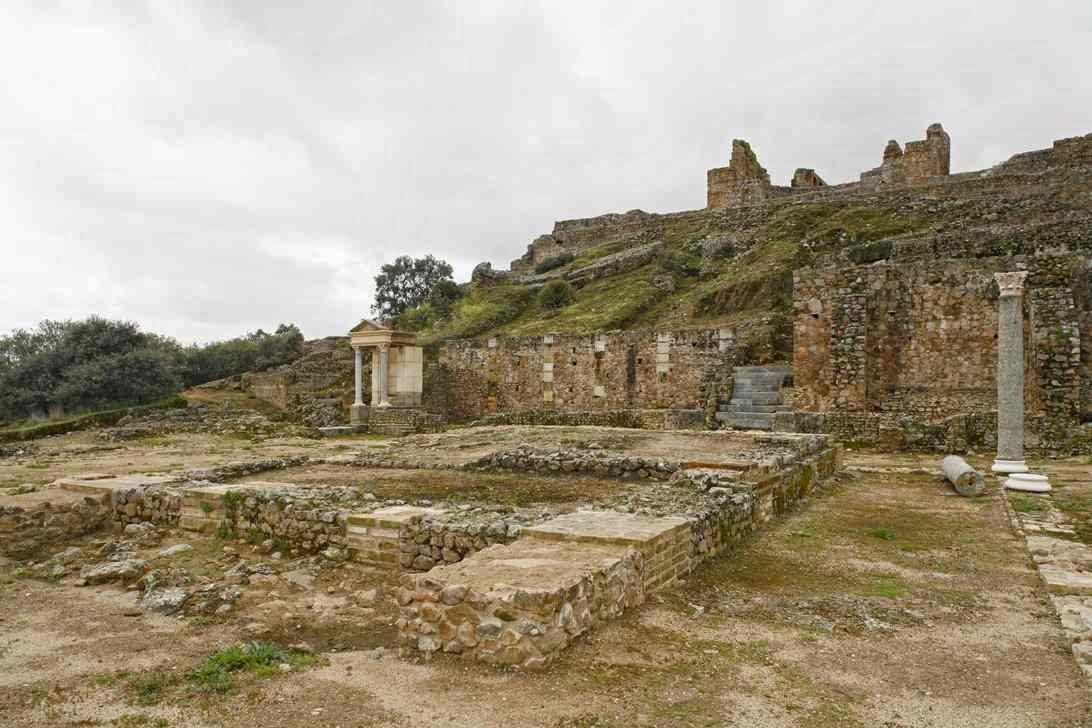 Ruinas romanas Andalucia