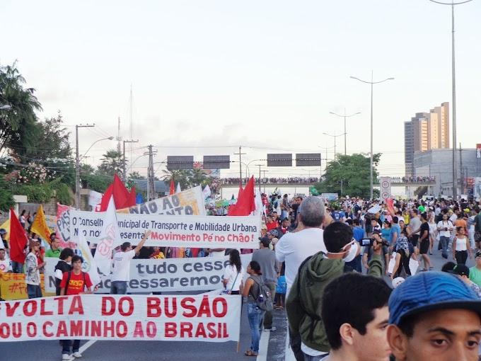Natal: 85 professores da UFRN divulgam Nota em apoio ao Movimento Popular que está balançando o país